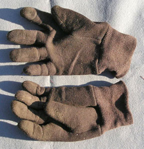 Stained Gloves